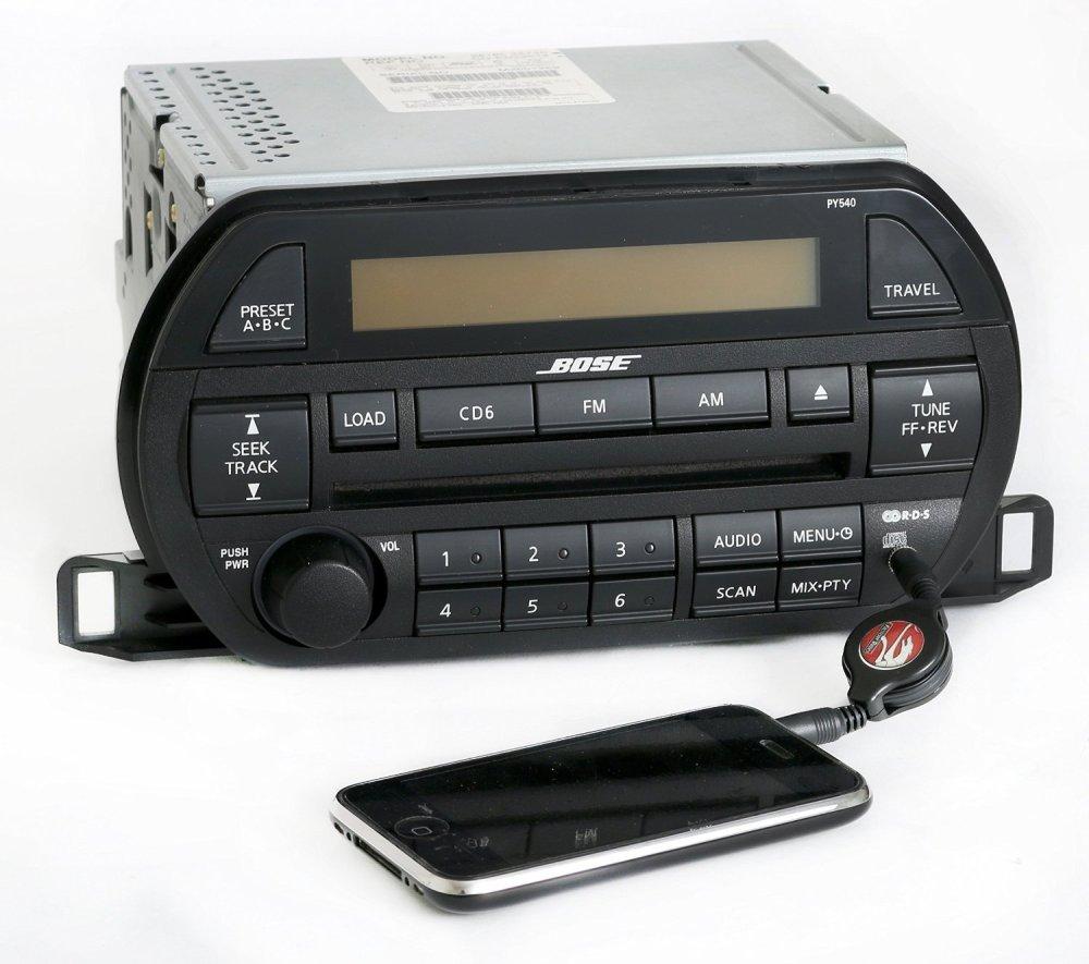 medium resolution of get quotations nissan 2004 altima bose radio am fm 6 disc cd w auxiliary input py540 281853z720