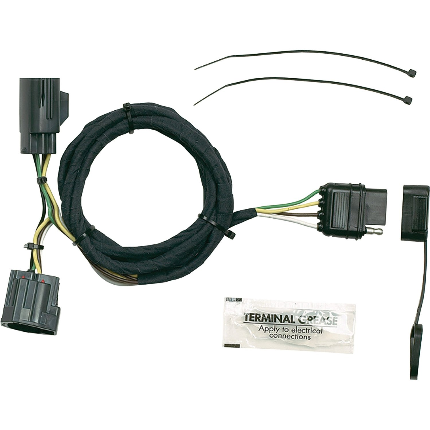 hight resolution of get quotations hopkins towing solutions wiring kit fits 2007 2013 jeep wrangler model 42635