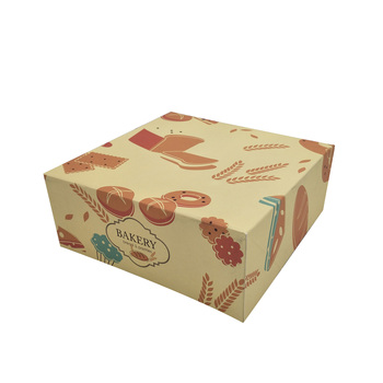 Eco Friendly Custom Printed Bakery Boxes Offset Printing Ce