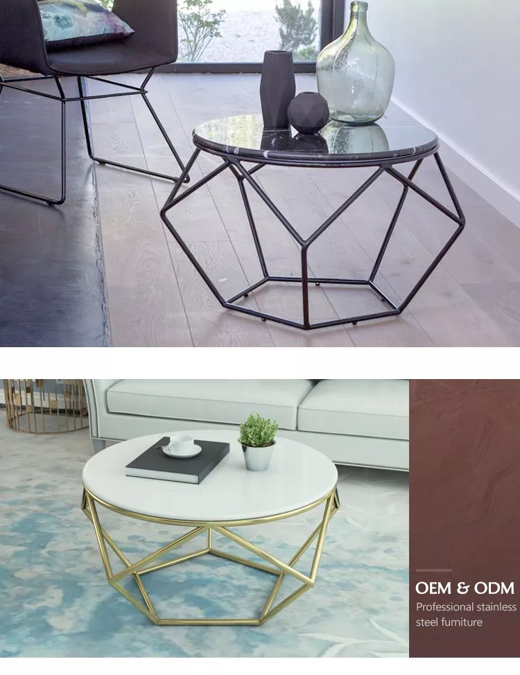 contemporary living room coffee tables furniture wrought iron frame sofa end table small round marble black coffee table buy small round table black