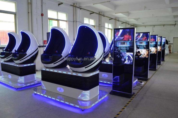 guangzhou factory 2 seats VR EGG Virtual Reality 9D VR Virtual Reality Cinema