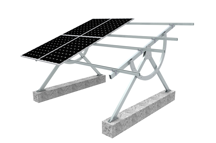 Factory Adjustable Solar Pv Green House Support For Ground