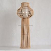 Rattan Wicker Desk Floor Lamps - Buy Rattan Box Floor Lamp ...