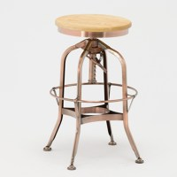 Vintage Toledo Plywood Backrest Bar Stool Chair / Retro ...