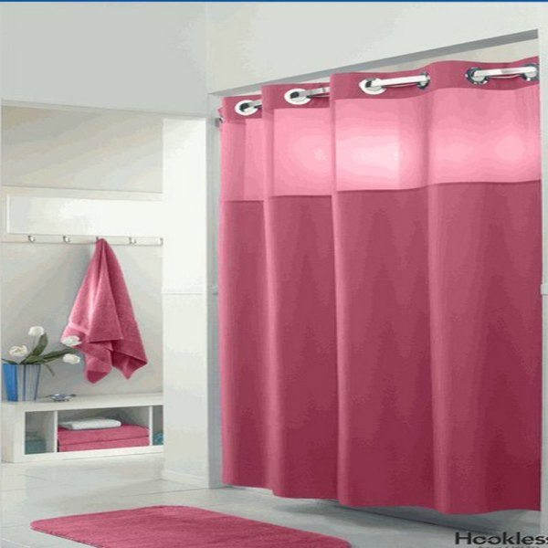 High Quality Hotel Nylon Polyester Material Shower Curtain - 96