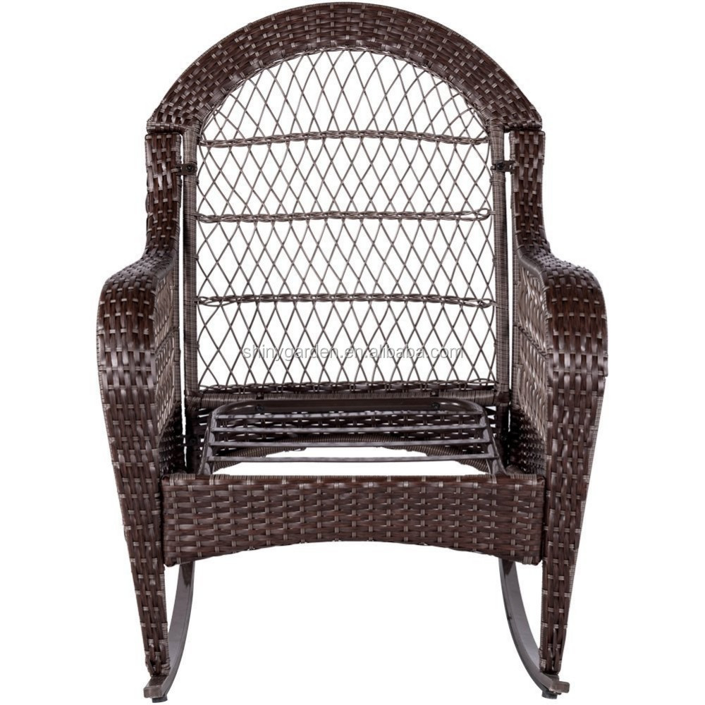 Wicker Rocking Chair Outdoor Wicker Rocking Rattan Reclining Chair With Cushions For Elderly Sale Buy Wicker Rocking Chairs For Sale Rocking Chair For Elderly Rattan