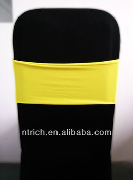 yellow spandex chair sashes tommy bahama outdoor lounge chairs cheap covers gorgeous band lycra