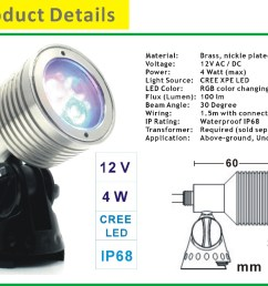 12v low voltage multi color led landscape lighting [ 1000 x 817 Pixel ]