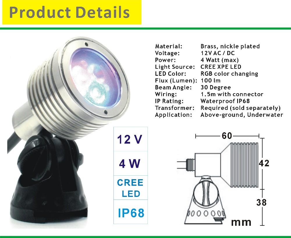 medium resolution of 12v low voltage multi color led landscape lighting