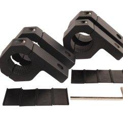 get quotations house tuning 4pcs 1 inch light bar clamp roll bar mounts tube clamps horizontal bar [ 1000 x 1000 Pixel ]
