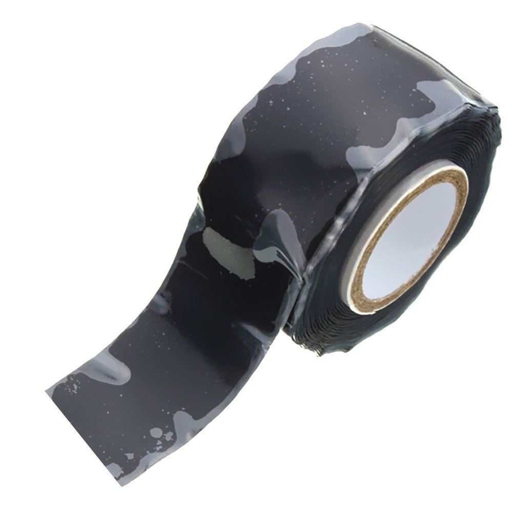 hight resolution of get quotations zcargel waterproof high piezoelectricity electrical tape garden water pipe repair tape silicone rubber self