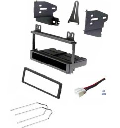 car stereo dash kit wire harness and radio tool for installing a new radio [ 1200 x 1397 Pixel ]