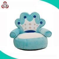 Stuffed Toddler Bubble Bean Bag Sofa Chair Kids Sofa Blue ...