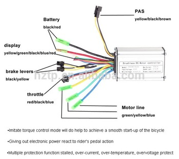 wiring diagram for electric brake controller iphone 4s parts bike motor 36v - buy controller,36v15a controller,electric ...