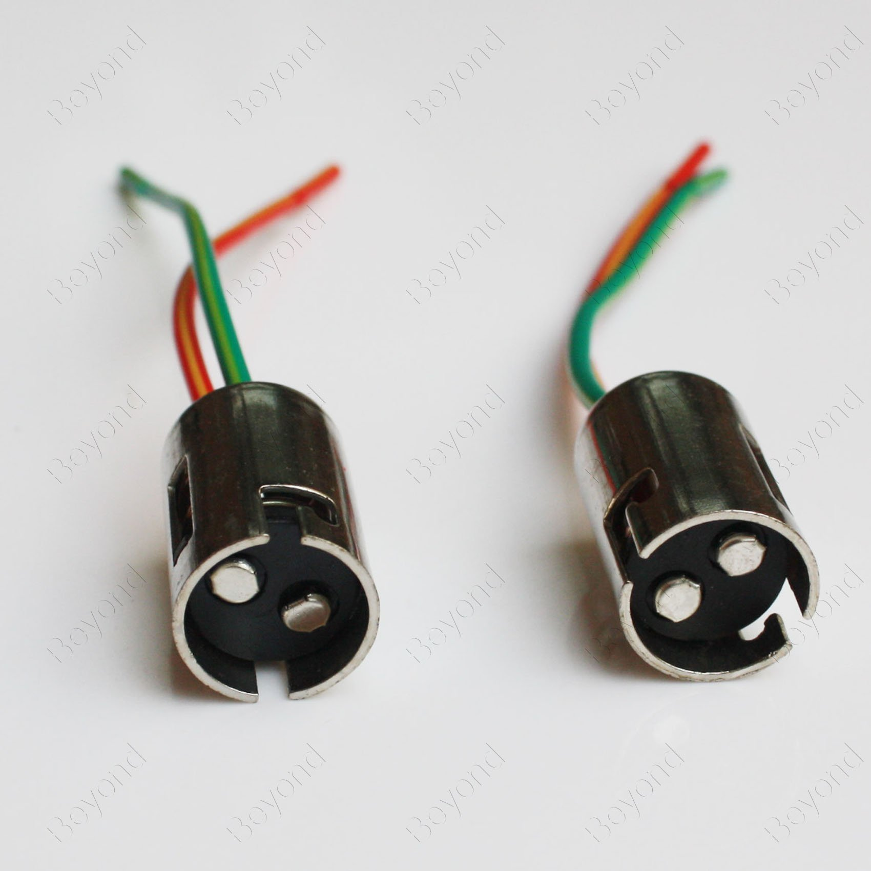 hight resolution of get quotations byopto 2 pcs 1157 bay15d female metal car auto truck headlight fog brake turn