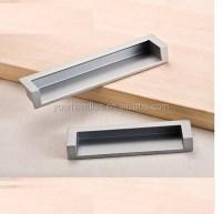 Furniture Concealed Cabinet Pulls,Recessed Flush Handles ...
