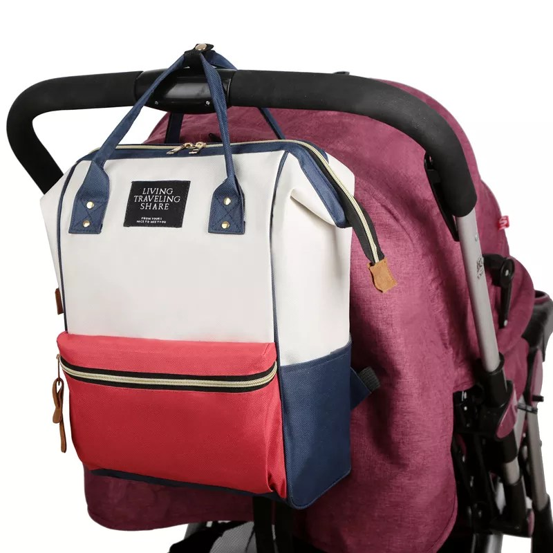 Wholesale New durable large capacity Waterproof mommy bag Diaper Bags Mummy Baby bag
