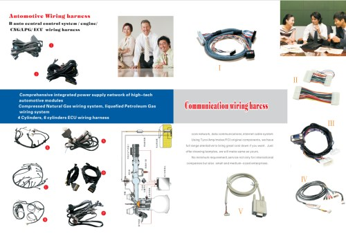 small resolution of molex 2510 connector flexible flat cable ring terminal wires electricity meter wiring harness