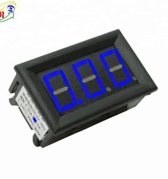 rd 3 digit dc four wires led display 0 10a amp current panel meter digital panel analog ammeter [ 1000 x 1000 Pixel ]