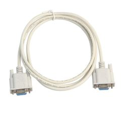 get quotations sodial serial rs232 null modem cable female to female db9 fta cross connection 9 pin com [ 1024 x 1024 Pixel ]