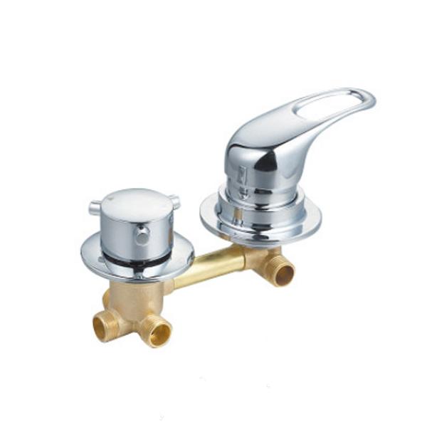 de bain mural en laiton melangeur de robinet 4 voies vanne de derivation de douche melangeur robinet buy robinet mitigeur de douche mitigeur de
