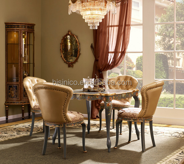 vintage living room sets cool art for furniture dinning set hand painted square wooden dinner table tufted chairs