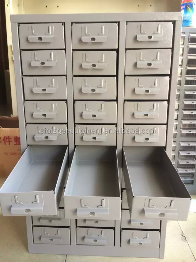 Modern New Workshop Small Parts Storage Cabinet  Plastic