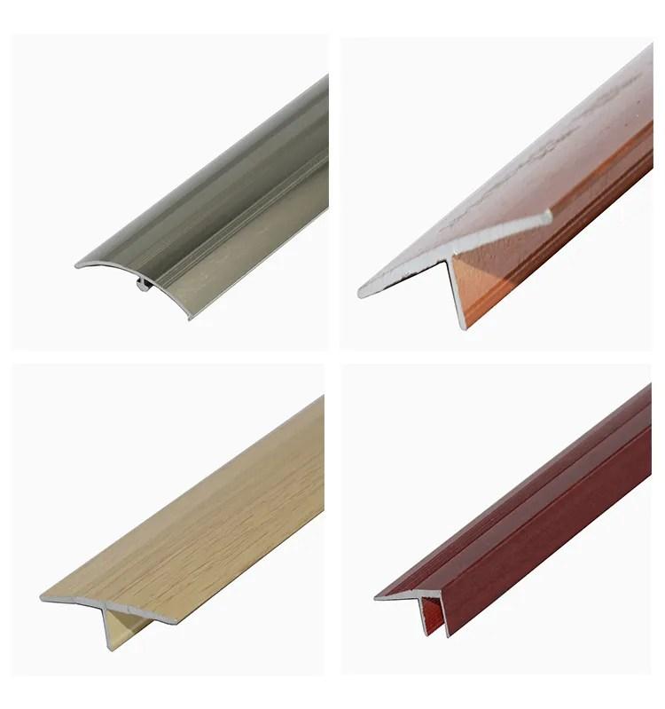 45mm aluminium floor edge bar trim covering strip flat threshold to carpet vinyl tile laminate view aluminium threshold yutian product details from