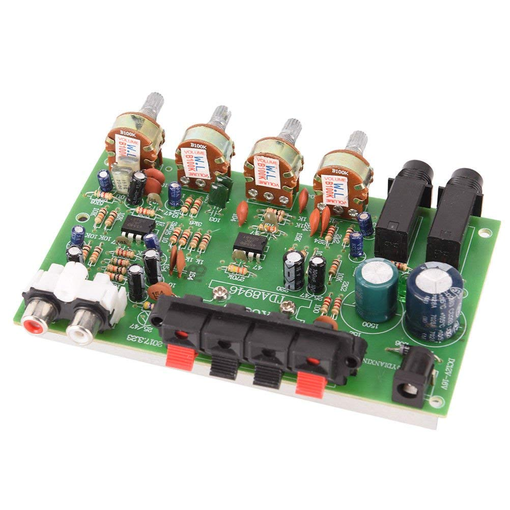 hight resolution of get quotations fidgetfidget audio power amplifier board 12v 60w stereo digital electronic circuit module hf