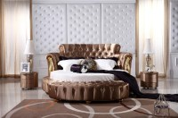 Round Bedroom Sets