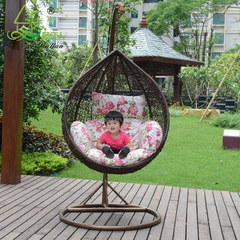 patio hanging egg chair leather wingback chairs south africa indoor outdoor bedroom balcony rattan wicker easy graco baby swing
