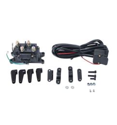 get quotations 12v motorcycle atv utv winch relay solenoid contactor with rocker switch handlebar control line chilie [ 1020 x 1020 Pixel ]