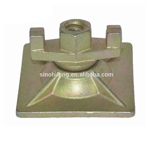 small resolution of formwork tie rod swivel wing nut nut plate