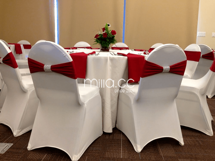 wedding chair alibaba dinning covers spandex band with diamond buckle cover sash lycra bow - buy ...