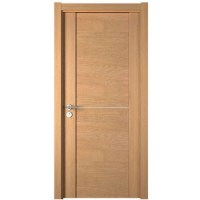 Simple Modern Wooden Melamine Finish Door Design