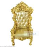 Usine pas cher royal roi trne chaise  vendre--ID de ...