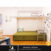 Wall Unit Beds Double Decker Sofa Bunk Bed With Loft