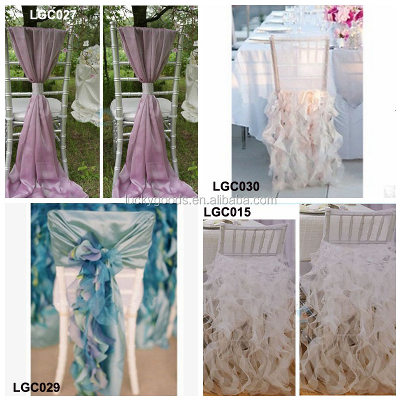 decorative chair covers for sale rattan chairs and table sets elegant custom made wedding organza ruffled cover faq
