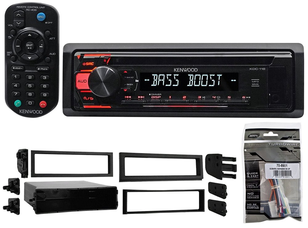 medium resolution of get quotations 1993 2007 subaru impreza kenwood cd player receiver stereo mp3 aux remote