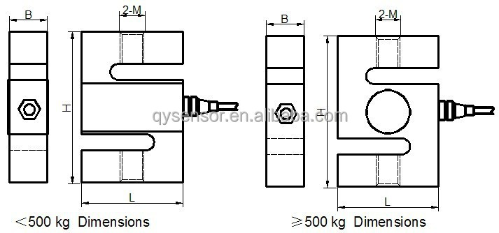 S Shape Load Cell/s Type Load Cell 20kg To 5000kg/tension