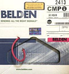 get quotations plenum rated belden 2413 002100 red cat 6 100 feet [ 1000 x 1000 Pixel ]