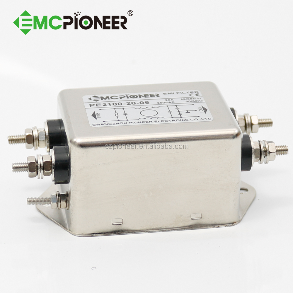 20a low leakage current Single Phase emi Filter for medical equipment. View Single Phase emi Filter . EMC Pioneer Product Details from Changzhou ...