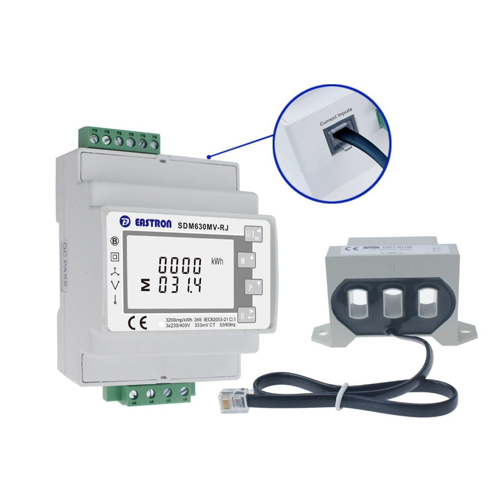 medium resolution of sdm630mv rj 3 phase 4 wire rj12 easy wiring energy meters modbus rtu