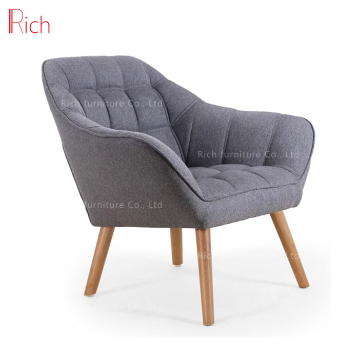leather chair covers to buy keller barber china modern furniture gray fabric single couch restaurant sofa