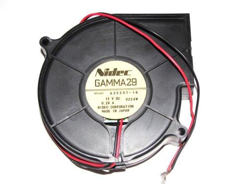 small resolution of nidec gamma29 9cm a35207 16 12v 0 26a 2wire dc blower fan