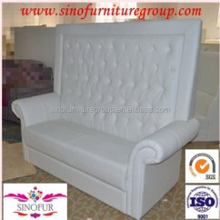 High Back Sofa And Loveseat With Ottoman Crystal Tufted Buy