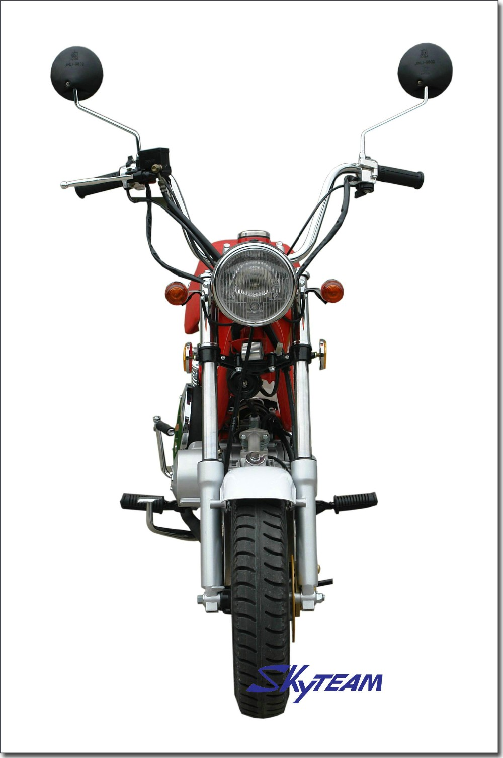 Skyteam 4 Stroke Bubbly 50cc &125cc Motorcycle Chappy(eec