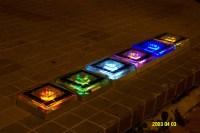 Underground Solar Lighting Multi Color Path Garden Solar ...
