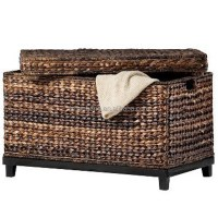 Natural Rattan Seagrass Water Hyacinth Wicker Storage ...