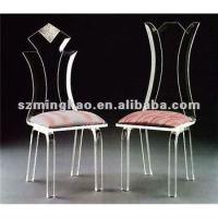 Acrylic Chair With Cushion - Buy Acrylic Dining Chair ...